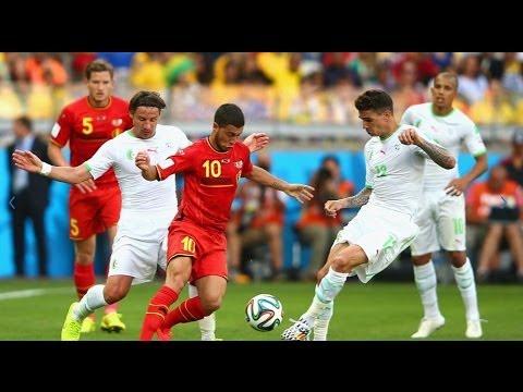 Belgium vs Algeria 2-1 All Goals Highlights  Fifa Worldcup 2014 Brazil Match Videos HD