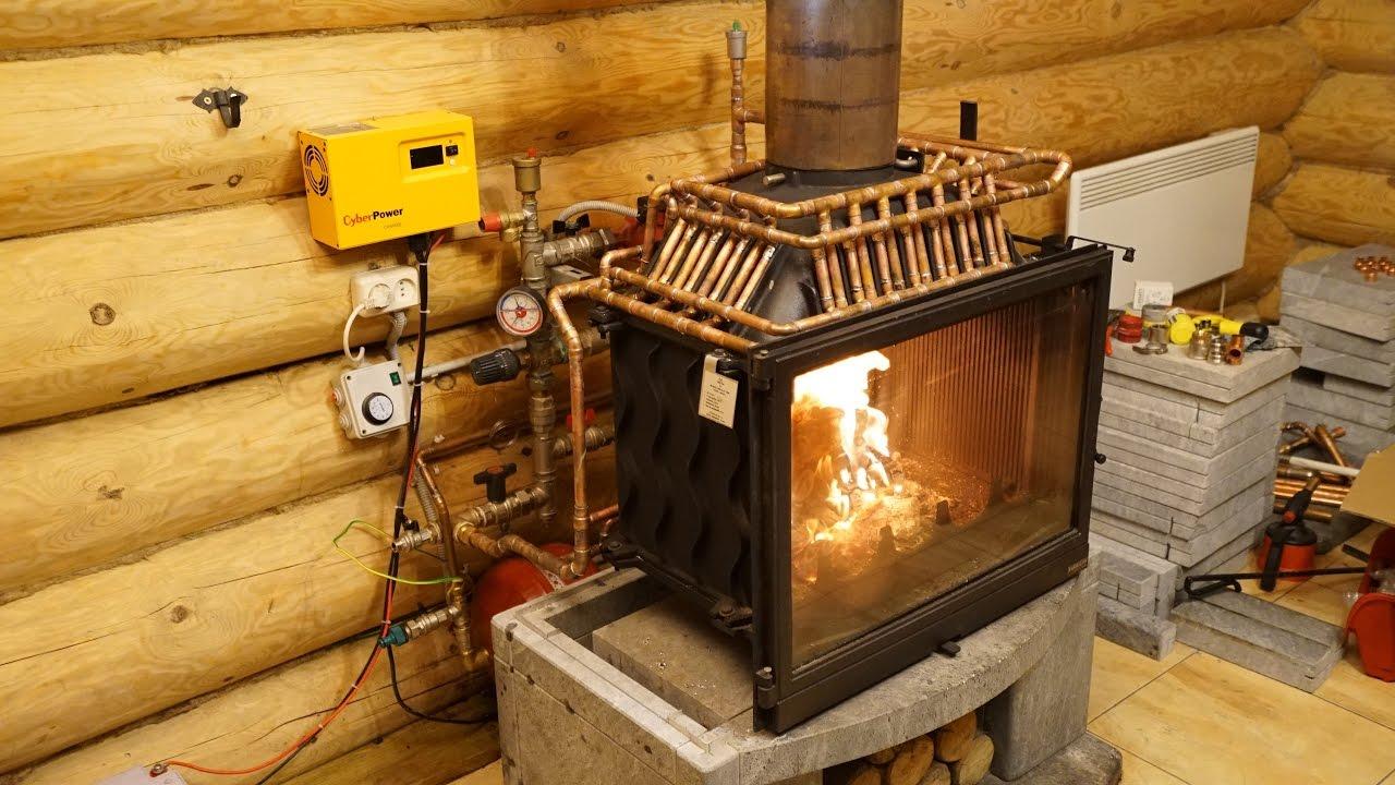 Котел дровяной для водяного отопления своими руками 38