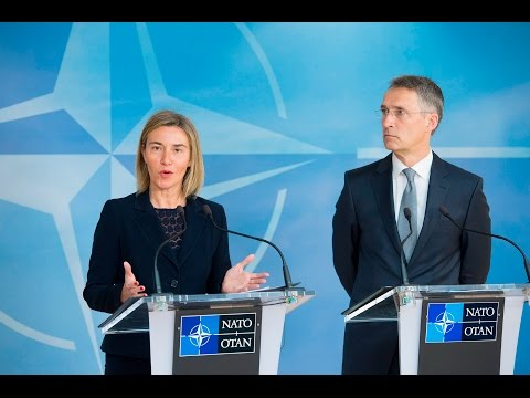 NATO Secretary General with EU High Representative, Foreign Minister Meetings, 20 MAY 2016