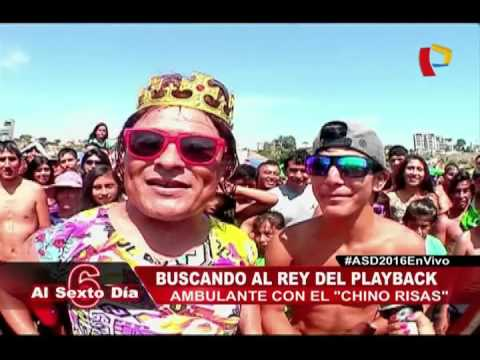 Reto Playero: El 'Chino Risas' Busca Al Rey Del Playback Ambulante