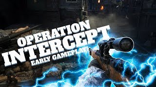 "WW2 EARLY DLC SNIPING GAMEPLAY! ""OPERATION INTERCEPT"""