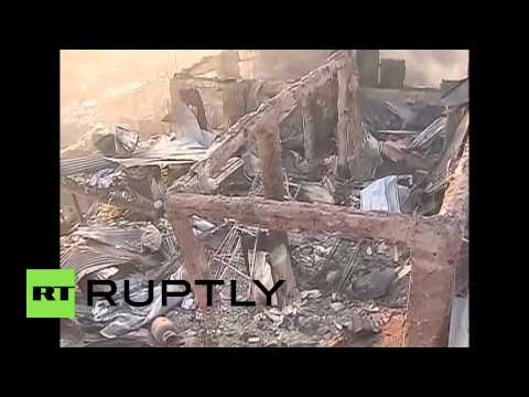 Chile: Fire turns Valparaiso into ash and smoke