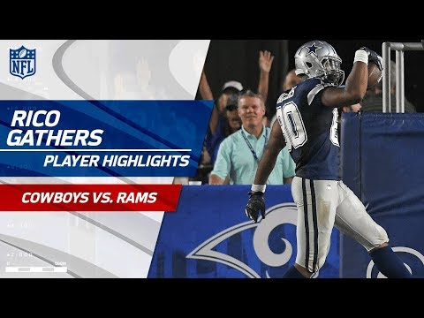 Every Rico Gathers Play Against Los Angeles Cowboys Vs Rams