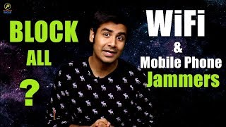 What is WiFi / Mobile Phone Jammer ? | How Jammer works ?