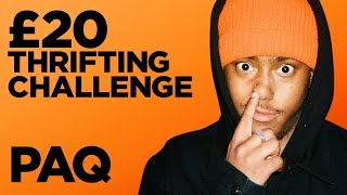 Budget £20 Thrifting Outfit Challenge feat. Teo Van Den Broeke | PAQ Ep #8 | A Show About Streetwear