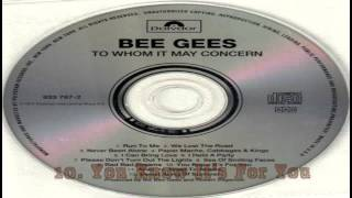 Bee Gees - To Whom It May Concern (1972) [Remastered Full Album]