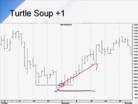 Turtle soup trading system