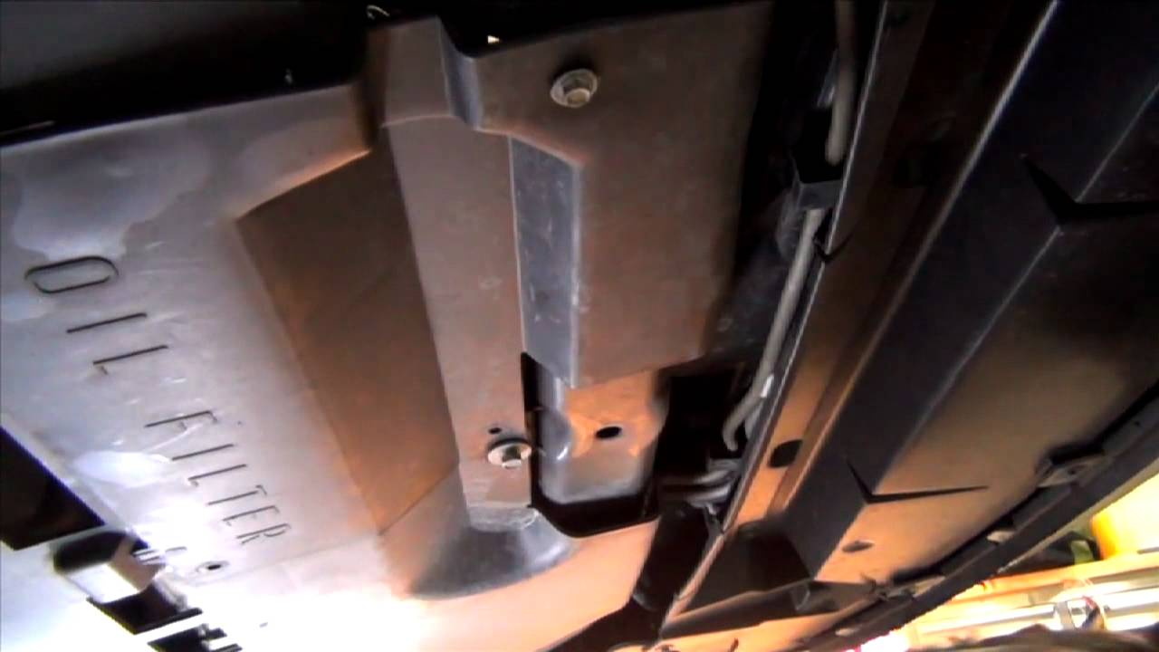 How to change the oil on a 2010 Ford Fusion LubeUdo com