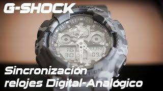 Ajuste de las agujas de Casio G-Shock