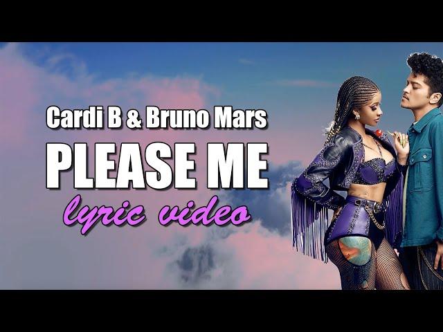 Cardi B & Bruno Mars - Please Me (Lyrics) thumbnail