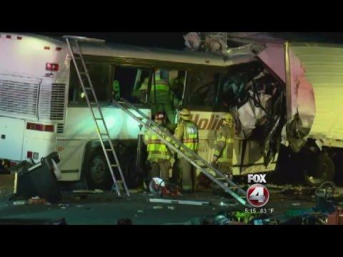 Tragic Tour Bus Accident in California