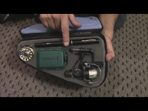 Backpacking fly and spin fishing kit by for Backpacking fishing kit