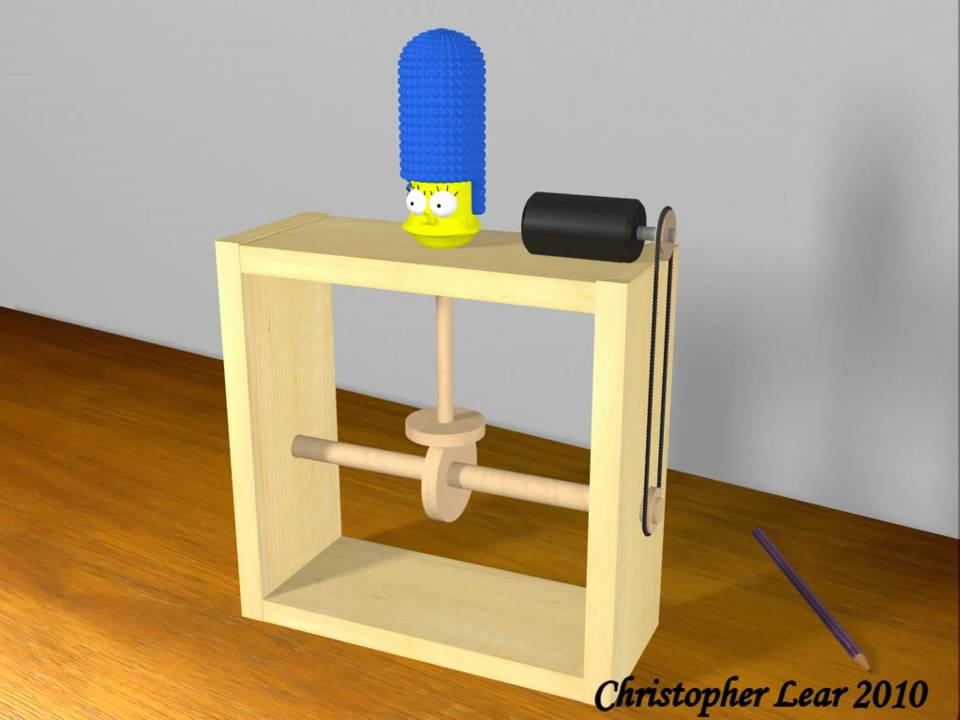 Marge Simpson Cam Toy 3D Animation - YouTube