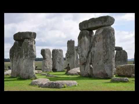Avebury Stone Circle -- largest stone circle in Europe -- Wiltshire village -- southwest England