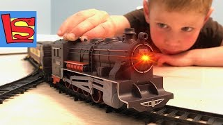 TRAIN AND RAILWAY, as in America TRAIN VIDEO for children Accident with Train The LONGEST TRAIN