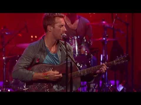 Coldplay - Charlie Brown (Live @ Letterman)