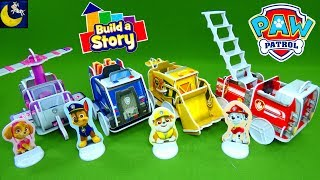 Super Cool Paw Patrol Toy - Build A Story Vehicles - Watch Us Do It!