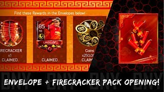 NEW FIRECRACKER PACK OPENING & 3RD CYCLE RED ENVELOPE OPENING! FIFA MOBILE 18 LUNAR NEW YEAR TIPS!
