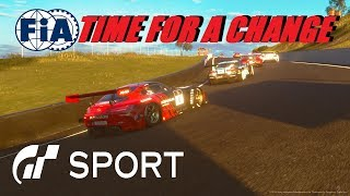 GT Sport Time For A Change - FIA Round 2