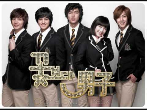 boys over flowers ost soundtrack - (Yearning Of Heart - A'ST1)