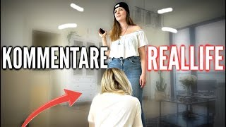 ENDLICH WIEDER! 😳  KOMMENTARE in REAL LIFE ! 😂 | Sonny Loops