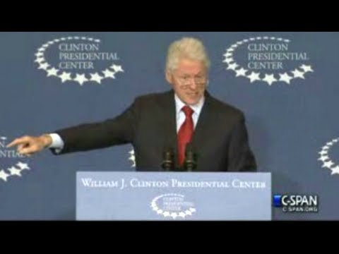 "President Clinton Defends the Health Care Law (The Affordable Care Act, aka ""Obamacare"") Full Speech"