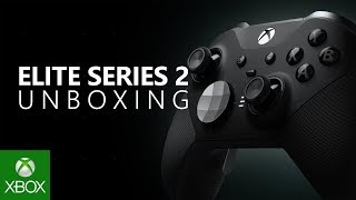 Unboxing Xbox Elite Wireless Controller Series 2