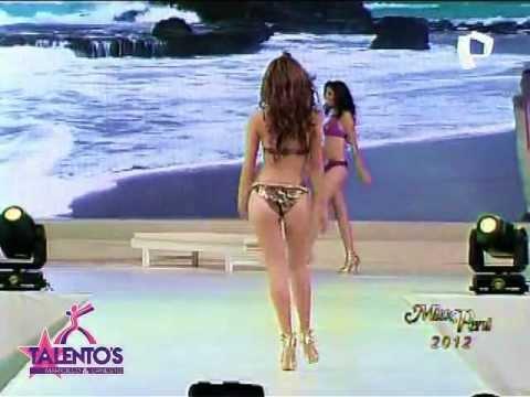 Miss Perú 2012: Desfile En De Candidatas En Traje De Baño + Talentos (30-06-2012)