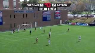 Dayton Women's Soccer vs. Fordham - Post-game