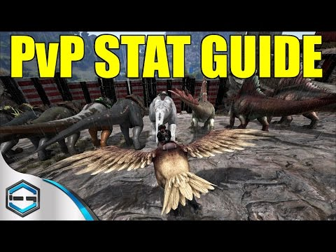 Ark Survival Evolved PvP Stat Guide For Players And Dinou0027s Ep. 20 | Ark  Survial Evolved ...