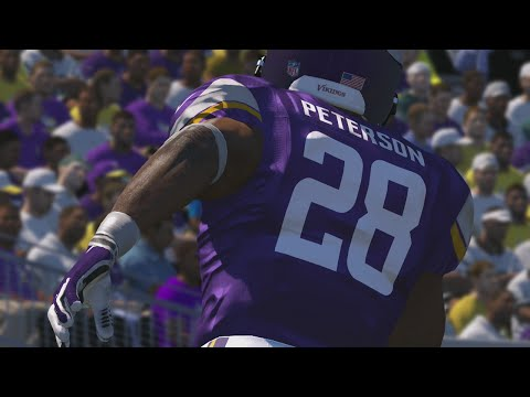 Madden 15 Online Gameplay - FULL GAME Live Com Teddy Bridgewater Subs in For Injured Cassell