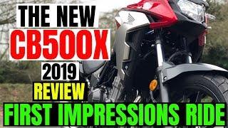 Honda CB500X | 2019 | REVIEW | First impression