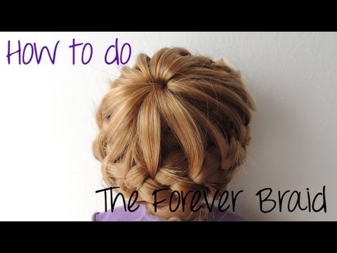 how to hair make it different : How to do the Forever Braid - YouTube