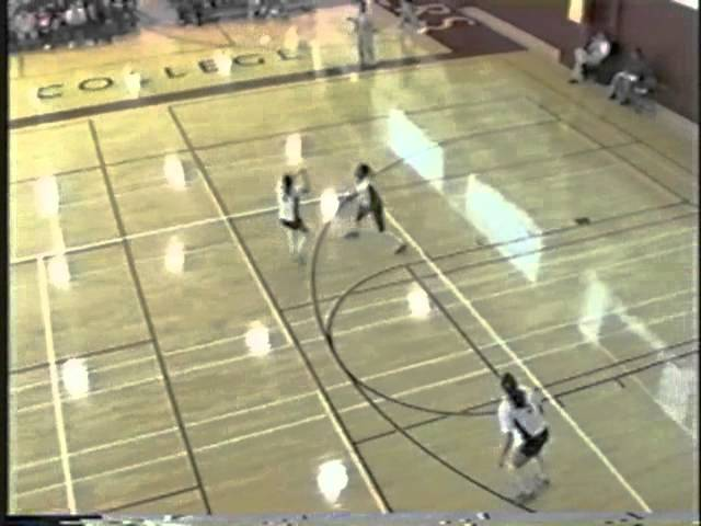 2001 Golden West College Women's Volleyball Quarter-Finals vs Delta