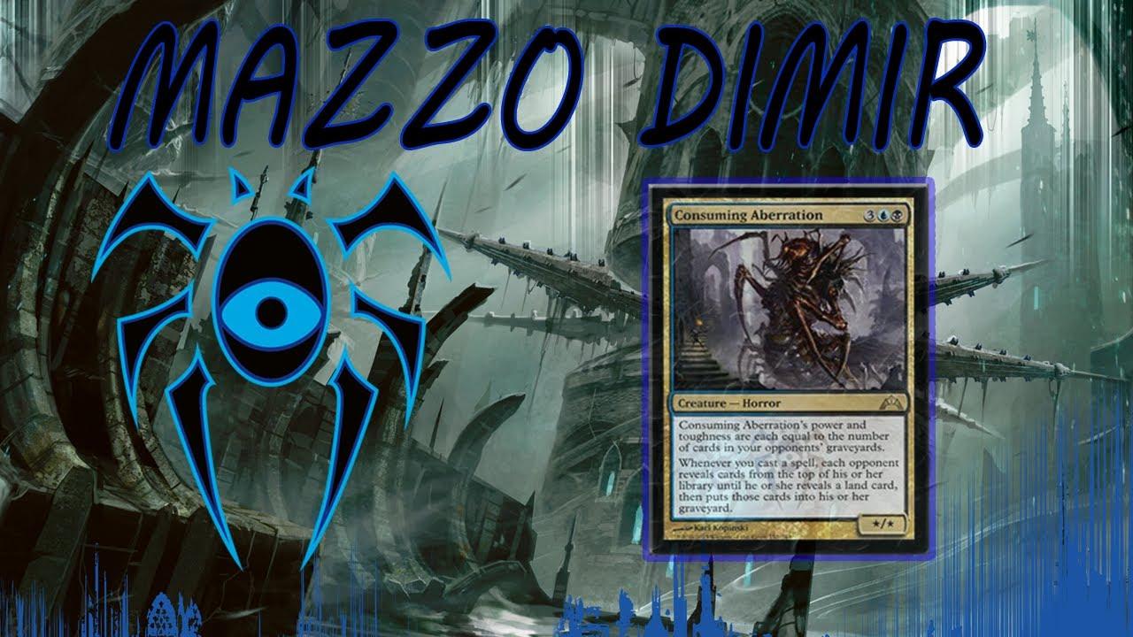 Il mazzo bastardo magic mazzo dimir blu nero youtube for Progetta il mio mazzo