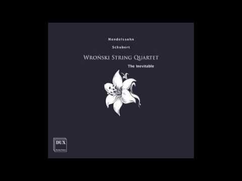 Schubert String Quartet D minor Death and the Maiden, part II (Wronski Quartet, DUX)