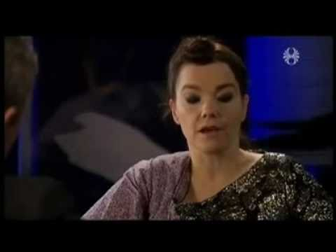 Bjork  -  Magma Energy. Iceland Interview. 9.11.10