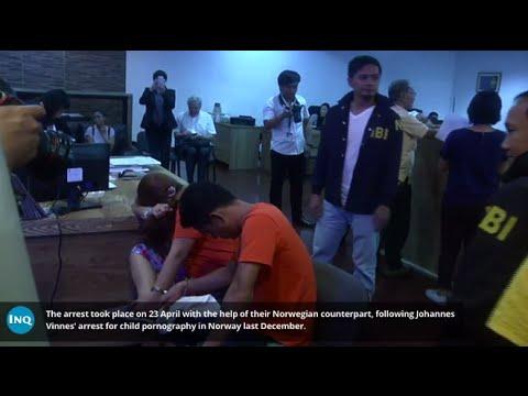 NBI arrests 2 in child pornography case