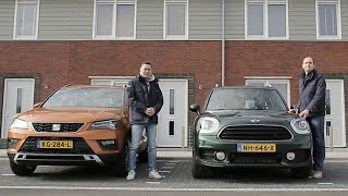 ANWB Dubbeltest Mini Countryman vs. Seat Ateca 2017