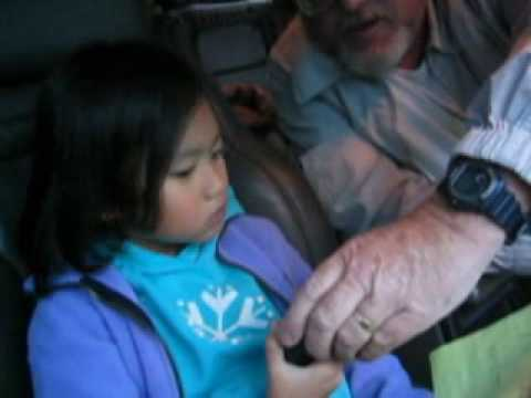 W6TRW Amateur Radio Field Day 2006 - Bianca's First HF Contact (8 yrs old)