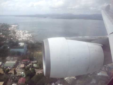 AIRLINE TRAVEL & AIRPORTS: PAL A330 Landing at Puerto Princesa