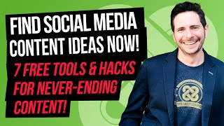Download lagu How To Find Social Media Content Ideas (7 FREE TOOLS & HACKS for Never-Ending Content!)