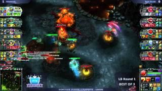 DRz vs Hex game 2 Crazy Finish