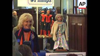 UK: LONDON: PUPPETS FROM TV SERIES THUNDERBIRDS SOLD AT AUCTION