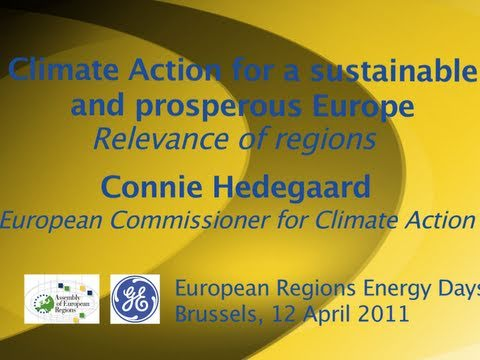 EU's Hedegaard urges regions to adopt their own climate strategies: Speech