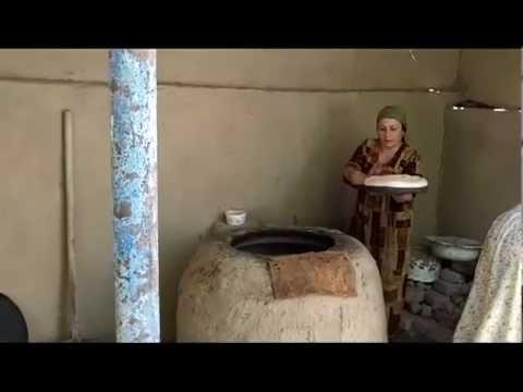 Download Fotima makes bread in Tajikistan Mp4 baru