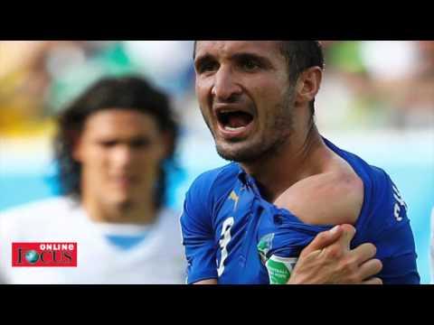 Uruguay-Beißer Luis Suarez wird zum Netz-Monster