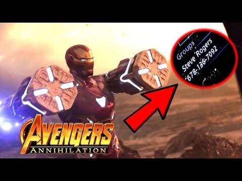 Avengers 4 Trailer Release Date REVEALED!? Infinity War Hidden Easter Egg Reveal
