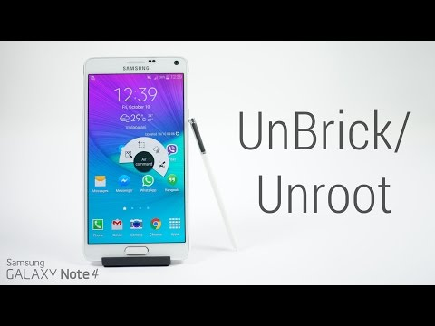 Galaxy Note 4 (All Variants) - How to Unroot | Unbrick | Flash Stock Firmware
