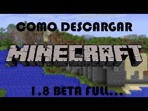 como descargar minecraft 1.8 para pc en español gratis (2014)